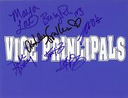 Vice Principals Hbo Castx7 Authentic Hand-signed Busy Philipps 8.5x11 Photo