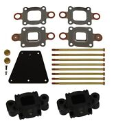 Barr Mc-20-864929a3 Dry Joint Exhaust Spacer Kit 3 Inch Replaces 864929a3 Raw Wa