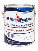 White Gallon Lobster Buoy Paint Us Marine Products Buoy Coating Gallon