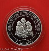1997 Cook Islands Dutchess Of York Sterling Silver Proof 2 Two Dollar Coin