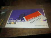 Harley Nos 1972 Rapido Owners Manual 99476-72