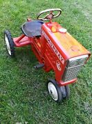 Vintage 50s/60s Murray 2 Ton Diesel Pedal Tractor Original In Exc Cond
