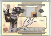 2009 Topps Platinum Refractor /300 Percy Harvin Arp-ph Rpa Rookie Patch Auto