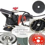 Wet Polisher Grinder Cutter Lapidary Saw Pad 42+1 Marble Slate Granite Cement