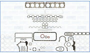 Full Engine Rebuild Gasket Set For Nissan Tractor Cwa 14.3 Rd8 1982-/1985