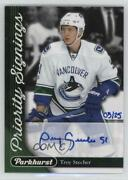2017 Toronto Fall Expo Parkhurst Priority Signings /25 Troy Stecher Ps-ts Auto