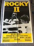 Rocky 2 1979 Orig. 1 Sheet Movie Poster 27x41 Vf+ Stallone/weathers Boxing