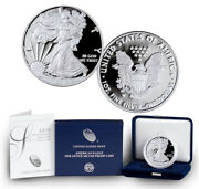 2019-w American Silver Eagle Proof Ogp And Papers