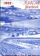 Nascar Yearbook 1952-extremely Rare-high Grade Copy-auto Racing