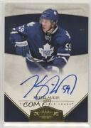 2010-11 Panini Dominion Signatures Gold /25 Keith Aulie 227 Rookie Auto