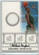 2006-07 Topps Big Game Picture Perfect Jersey /99 Rajon Rondo Ppj-rr Rookie