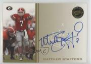 2009 Press Pass Signings Gold /99 Matthew Stafford Pps-ms2 Rookie Auto
