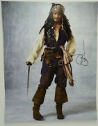 Johnny Depp Signed Autographed Sexy Pirates 16x20 Photo Beckett Certified 2 G1