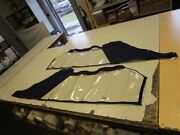 Thunderbird 372 Hard Top Camper Side Curtain Pair Of 2 Blue 77 X 24 Boat