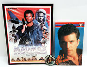 Vintage Mel Gibson Mad Max Collection- Program, Button, Bio Book- Your Choice