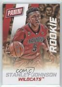 2015 Panini National Convention Decoy Thick Stock Stanley Johnson 37 Rookie