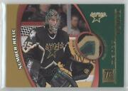 2001-02 Topps Reserve Game-worn Jerseys Number Marty Turco Tr-mt
