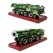 1/30 Scale Phl-03 Self Propelled Rocket Launcher Armored Truck W/ Wood Base Tank
