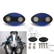 Mirror Block Off Plates Mirror Cover Caps For Bmw S1000rr 2013-2018 Blue