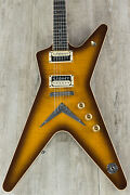 Dean Guitars Usatcml Time Capsule Ml Electric Guitar With Case Trans Brazilia