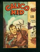 Calico Kid 5 1959-mexican Charlton Western-wild Bill Hickock-very Good Vg/fn