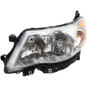 Headlight For 2009 2010 2011 2012 2013 Subaru Forester Left Hid With Bulb