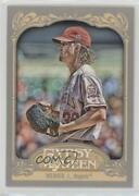 2012 Topps Gypsy Queen Jered Weaver Looking For The Sign 271.2