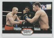2011 Topps Ufc Moment Of Truth Georges St-pierre Jake Shields Ss-ss Rookie