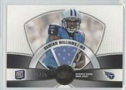 2010 Topps Prime Rookies Relics Gold /25 Damian Williams Prr-dw Rookie