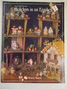 Holidays In An Eggshell Painting Carving Wood Egg Patterns Christmas Book Holidy