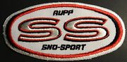 Very Rare Vintage Rupp Snowmobile Patch 2 1/2 X 5 Seldom Seen Mint 648