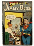 Supermanand039s Pal Jimmy Olsen 1 1st Issue 1954 Dc Comic Book G