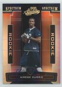 2005 Playoff Absolute Memorabilia Spectrum Gold /25 Airese Currie 175 Rookie