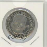 1996 Pinnacle Mint Collection Coins Nickel Mark Brunell 26