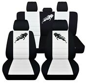 Truck Seat Covers Fits 2019 2020 Dodge Ram Front Rear Customize Logo Abf