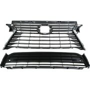 531110e170 531120e150 New Set Of 2 Grille Grill Upper For Lexus Rx350 Pair