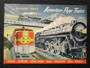1951 Gilbert Toys American Flyer Trains And Accessories 48pg Catalog Fvf 7.0