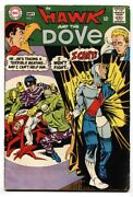 Hawk And The Dove 1 Fn 1968 Dc Comics-1st Issue-steve Ditko