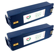 2x 12v 7.5 A-hr Aed Replacement Battery For Survivalink 9100 9110 9200 9210