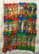 Charity Pez Lot - Star Wars Collection -new In Bags -includes Variants -pz0101
