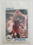 1985 Star Company Sixers 5x7 Factory Sealed Series 2 Team Set Charles Barkley Rc