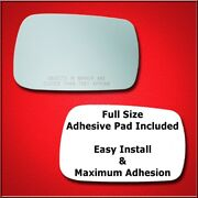 Mirror Glass Replacement + Full Adhesive For 07-12 Acura Mdx Passenger Side