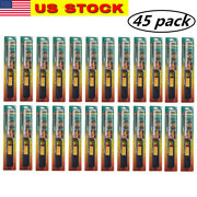 45pk Bbq Grill Lighter Refillable Butane Gas Candle Fireplace Kitchen Stove Long