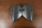 Yamaha Lower Mount Covers 63p-44553-00-8d 63p-44556-00-8d 2004 And Up 150 200 Hp