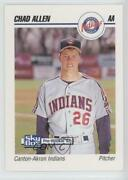 1992 Skybox Pre-rookie Canton-akron Indians Chad Allen 101