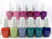 Opi Soak-off Gelcolor +nail Lacquer Tokyo Spring 2019 Collection Set Of 24pcs