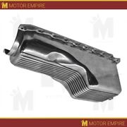 Cfr For 1965-90 Chevy Bb 396-402-427-454 Gen 4 4 Qts Oil Pan Polished Aluminum