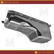 Cfr For 1991-up Chevy Bb 396-402-427-454 Gen 5,6 4 Qts Oil Pan Polished Aluminum