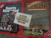 Sports Illustrated Gift Set - 1954 1st Issue Reprint W/ Replica Cards Lqqk