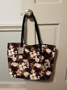 Nwt Mark And Hall Hallmark Floral Tote Shoulder Bag Purse Vegan Leather Sold Out